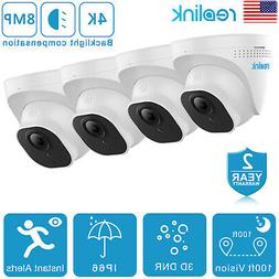Reolink 4K 8MP Add-on PoE IP Security Camera Outdoor/Indoor