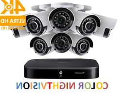 LOREX 4K Eight  Ultra HD 8-Channel Security System,Smart Hom