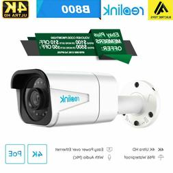 Reolink 4K Outdoor Home Security Camera IP 8MP Night Vision