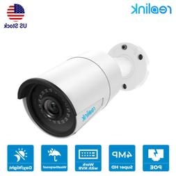 4MP Add-On Camera for Reolink Security camera System POE HD