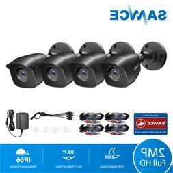 SANNCE 4x 1080P Outdoor Smart Security Camera 2MP 3000TVL CC