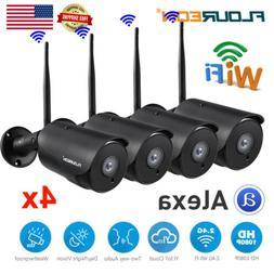 4x YI IOT 1080P HD WiFi Outdoor Home Security Camera IR-CUT