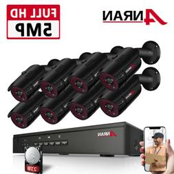 5mp cctv security camera system 1920p network