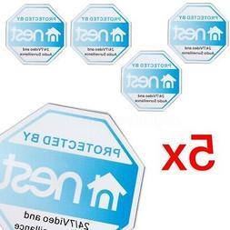 5x Doorbell Sticker Decal Security Nest Camera Surveillance