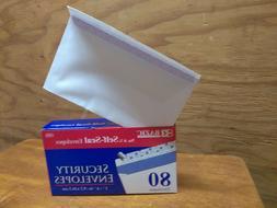 BAZIC #6 - 3/4 Peel and Seal Security Envelope Self-Adhesive