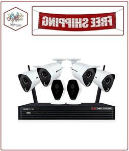 Night Owl 6-Channel 4K Hybrid Security System 1TB Hard Drive
