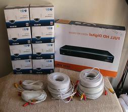 GW 8 Channel 2TB DVR Security Camera System w/ 8 4MP Cameras