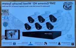 Night Owl 8 Channel 6 Camera 5mp Security System!!! 1TB WM-C