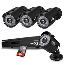 XVIM 8CH HDMI DVR 1080P Outdoor CCTV Security Camera System