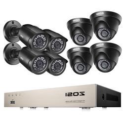 ZOSI 5MP Lite HDMI 8CH DVR 1080P H.265+ CCTV Security Camera
