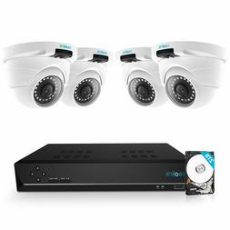8ch 5mp poe home security camera system