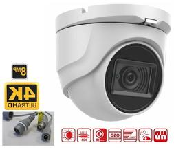 8MP 4k HD CVI 2.8mm IR Dome Security Camera 4k over COAX -4k