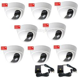 8x Security Cameras with SONY Effio CCD Wide Angle for CCTV