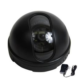 Dome Security Camera SONY CCD Wide Angle Lens Home Indoor DV