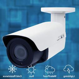 GW HD 2592x1920 5MP PoE Security IP Camera w/ 2.8-12mm Varif