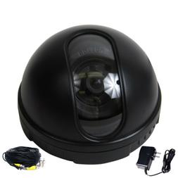 Security Camera Dome Indoor w/ SONY CCD Wide Angle for Home