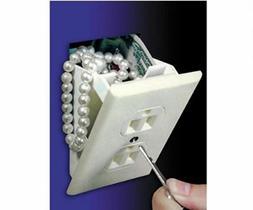 Wall Safe Electrical Outlet Socket Diversion Hidden Home Sec