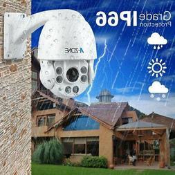 A-ZONE 1080P HD IP Mini PTZ Dome Camera 10X Optical Zoom Out
