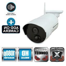 Night Owl Security Add-on Indoor/Outdoor Wireless 1080p AC P
