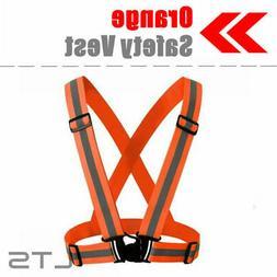 Adjustable Safety Security High Visibility Reflective Vest N