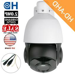 AHD 1080P 2MP PTZ Camera 30X Zoom Speed Dome Outdoor IR-CUT