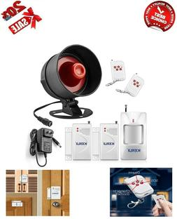Alarm Siren Security System Remote Wireless Motion Sensor Bu