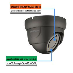 5MP Analog CCTV Security Camera Dome 4-IN-1 AHD/TVI/CVI/CVBS