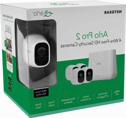 Arlo Pro 2 - 4 Cameras Wire-Free HD Security System by NETGE