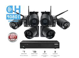 audio rechargeable security camera system 1tb wireless