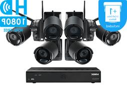 LOREX Audio Rechargeable Security Camera System 6 Wireless 1