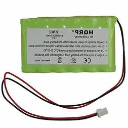 Battery fits Ademco Honeywell Security Systems, LYNXRCHKITHC