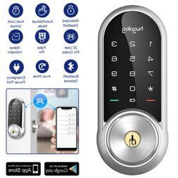 Bluetooth Door Lock Touchscreen Deadbolt Keyless Entry Lock