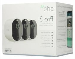 Brand New Arlo Pro 3 2K HDR Wire-Free 3-pack Camera Security