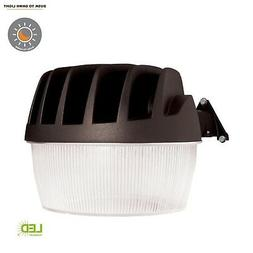 Halo Bronze Outdoor LED Area Dusk to Dawn Security Light w/