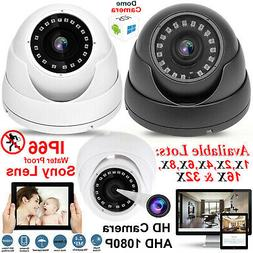 CCTV Dome Camera 2.4MP AHD Full HD 1080P Sony Lens Security