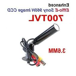CCTV Lipstick Bullet Security Camera 700 TVL 3.6mm Weatherpr