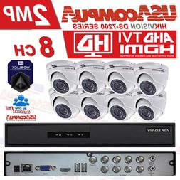 HIKVISION CCTV Security Camera System Kit  8CH Turbo HD DOME