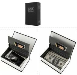 Disguised Book Lock Box Safe Hidden Secret Diversion Home Se