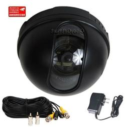 Dome Security Camera w/ Sony CCD Wide Angle Len Home Indoor