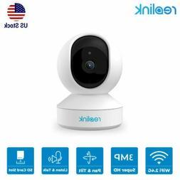 e1 security camera 3mp pan tilt wifi
