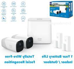 Eufycam Wireless Security System 2 HD Camera w/2 Entry Senso