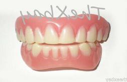 SECURE INSTANT SMILE False Fake Cosmetic Dentures Teeth Vene