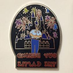 Fantasy Pin Guy Behind The Castle Security Guard Fireworks C