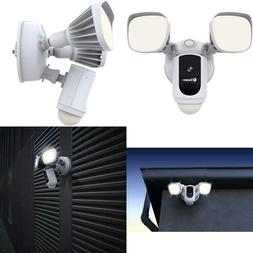 Swann Floodlight Security Camera W/Dimmable Motion Lighting,