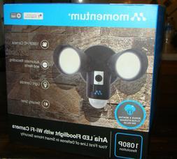 Home Security LED Flood Light Camera - Motion Sensor WiFi Ca