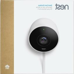 Google Nest Cam Outdoor 1080p Security Camera  White New