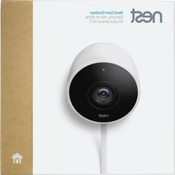 Google Nest Cam Outdoor 1080p Security Camera  White New