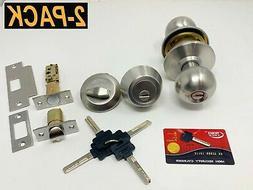 Grade 3 Grip Tight Tools High Security Knob+Deadbolt Combo L