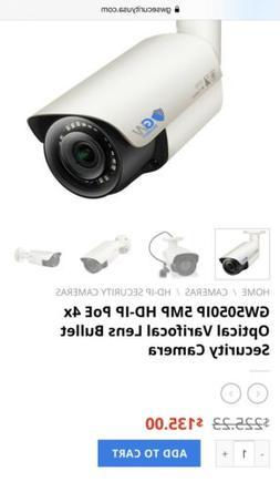 GW-5050IP 2592x1920 HD Bullet Security IP Camera Varifocal Z