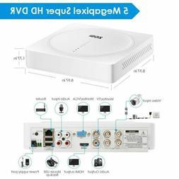 ZOSI H.265+ 8Channel 2K+  Super HD  DVR HD CCTV Camera Secur